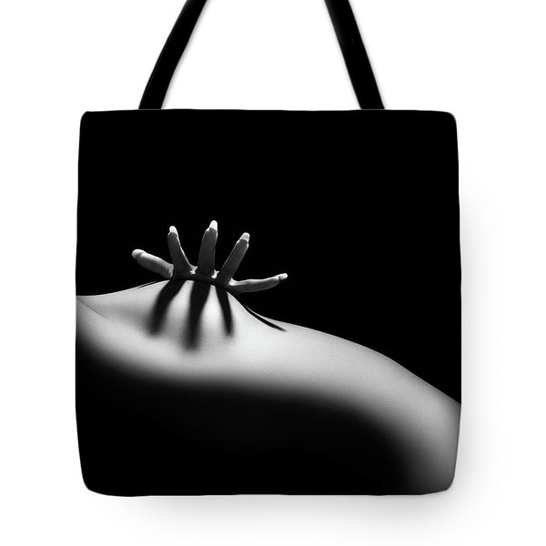 Nude Woman Bodyscape 11 Tote Bag