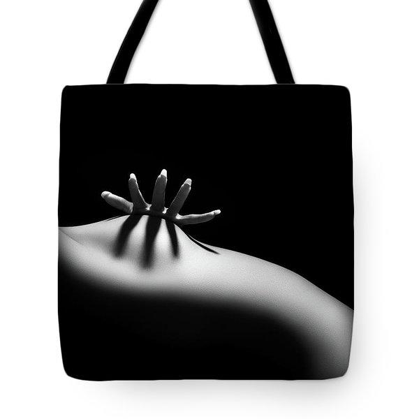 Nude Woman Bodyscape 11 Tote Bag