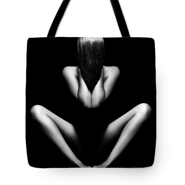 Nude Woman Bodyscape 12 Tote Bag