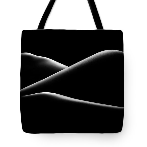 Nude Woman Bodyscape 17 Tote Bag