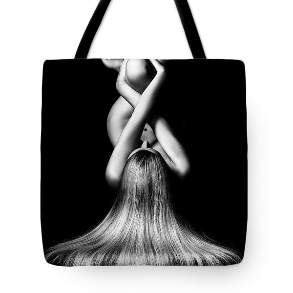Nude Woman Bodyscape 2 Tote Bag