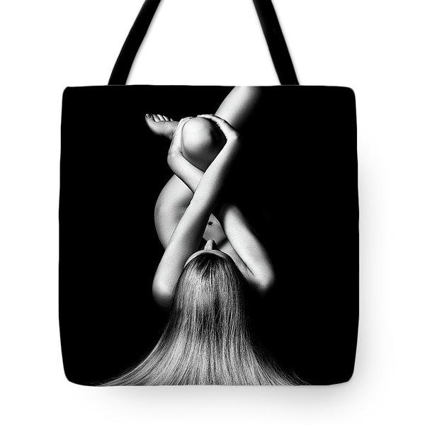 Nude Woman Bodyscape 2 Tote Bag