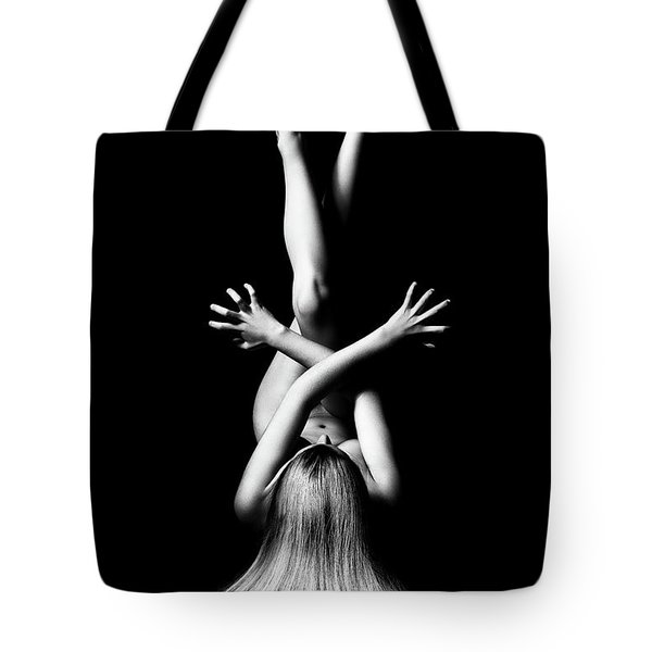Nude Woman Bodyscape 3 Tote Bag