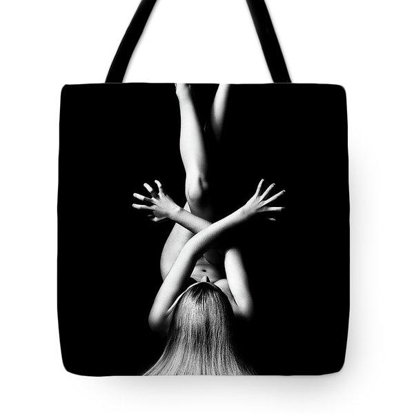 Nude Woman Bodyscape 3 Tote Bag