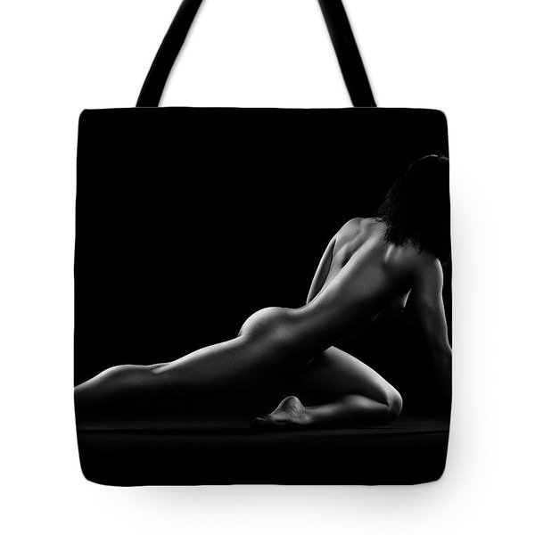 Nude Woman Bodyscape 5 Tote Bag