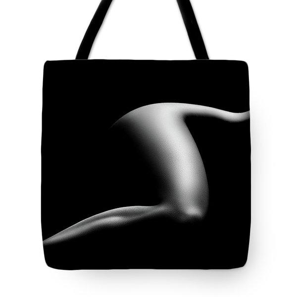 Nude Woman Bodyscape 9 Tote Bag