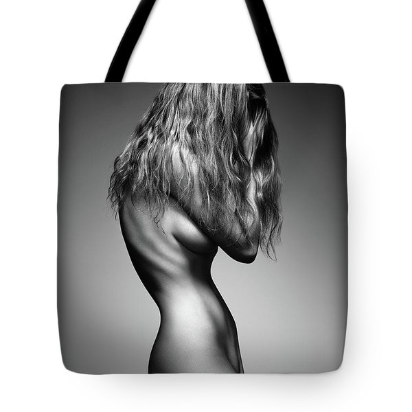Nude Woman Sensual Body Tote Bag