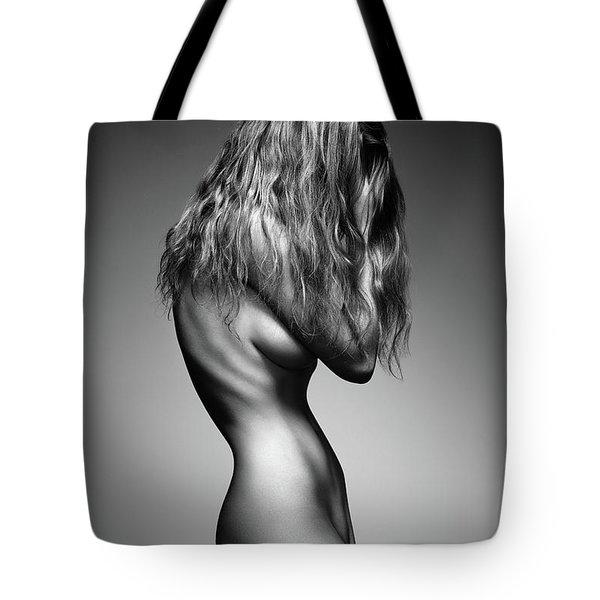 Nude Woman Sensual Body Tote Bag