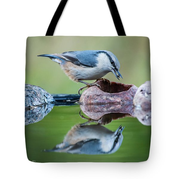 Nuthatch's Catch Tote Bag