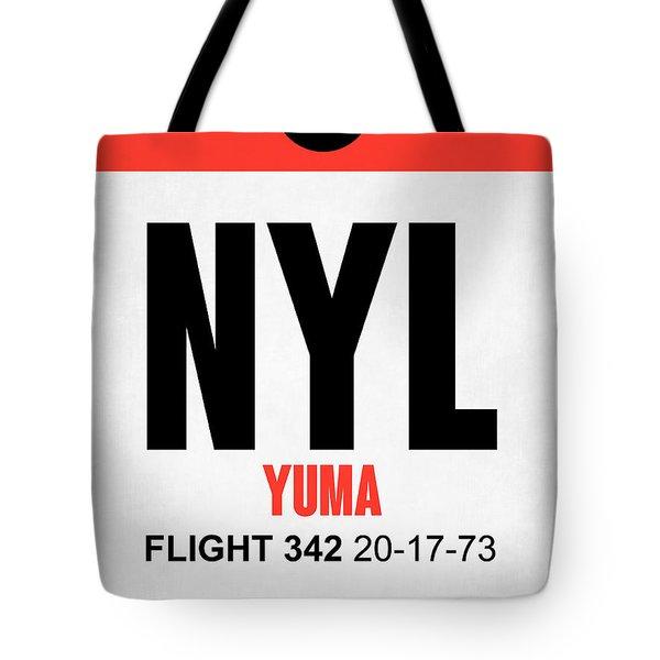 Nyl Yuma Luggage Tag I Tote Bag
