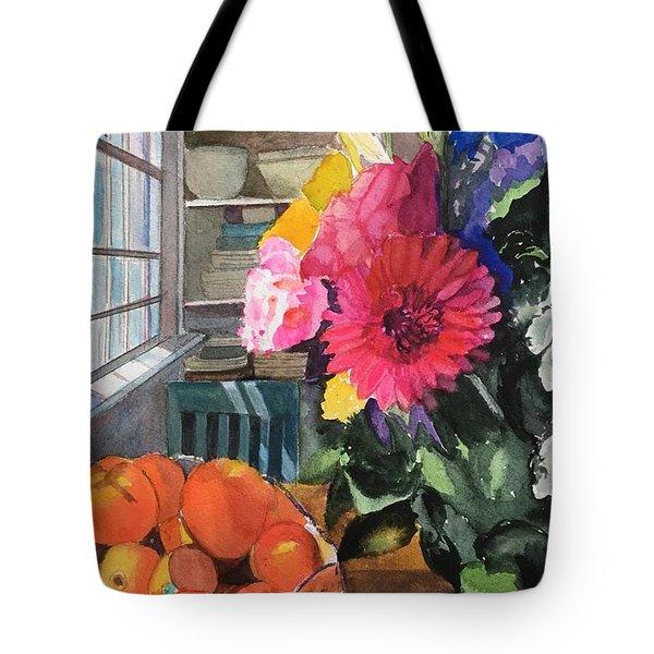 Oak Bluffs Kitchen Tote Bag