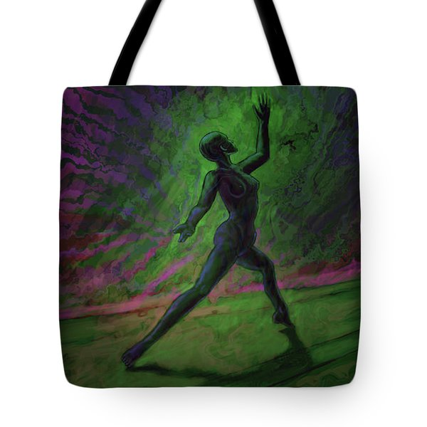 Obscured Dance Tote Bag