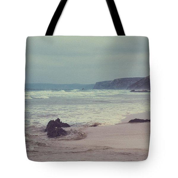 Tote Bag featuring the photograph Ocean Coast I by Anne Leven