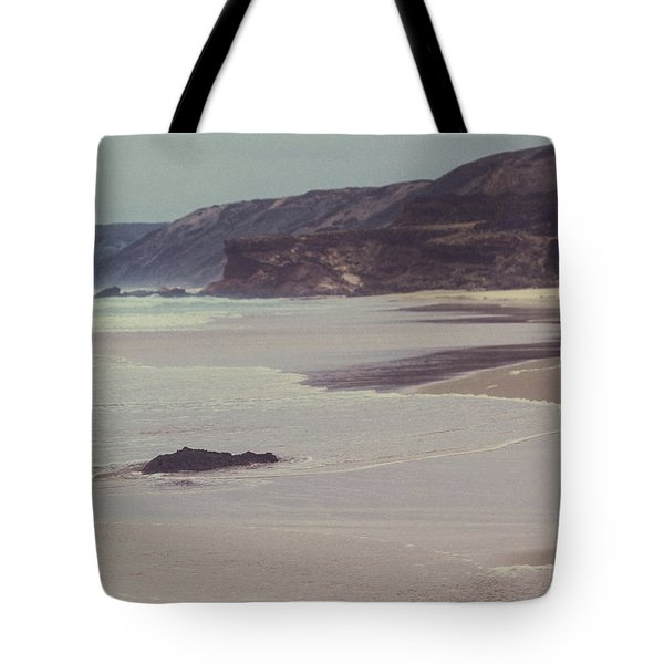 Tote Bag featuring the photograph Ocean Coast II by Anne Leven