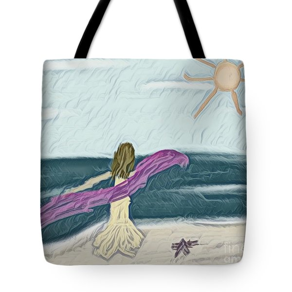 Ocean Dance Tote Bag