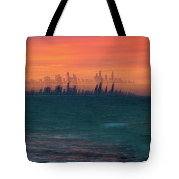 Ocean Motion Tote Bag
