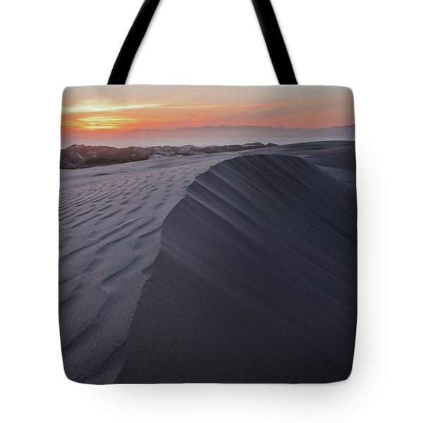 Oceano Dunes Sunset Tote Bag