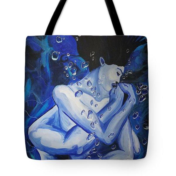 Ocean's Embrace  Tote Bag
