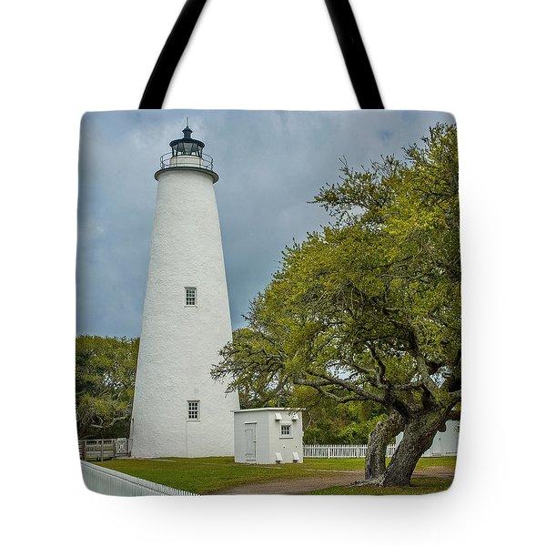 Ocracoke Lighthouse No 2 Tote Bag