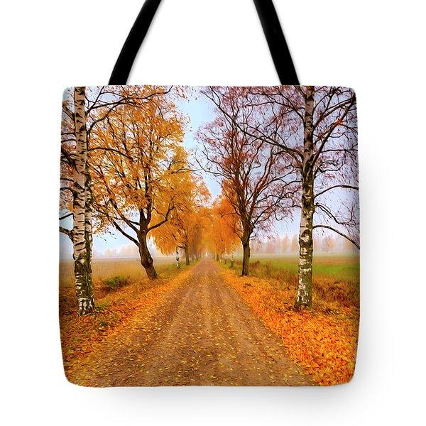 October Morning 6 Tote Bag