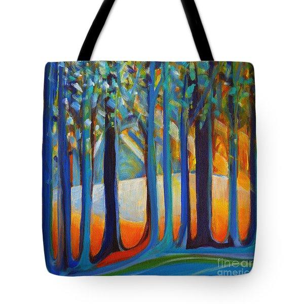 October Sunshine Tote Bag