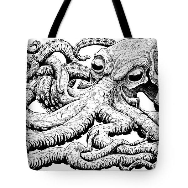 Octoberpus I Tote Bag