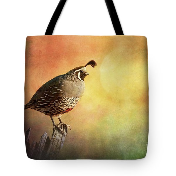 Ode To The Sunset Tote Bag