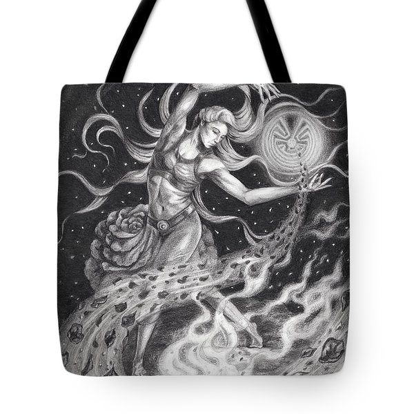 Of Roses And Embers Tote Bag