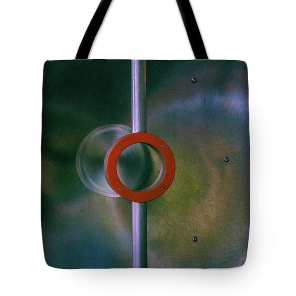 Off Center Tote Bag