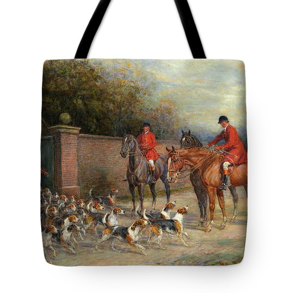 Off To The Hunt Tote Bag