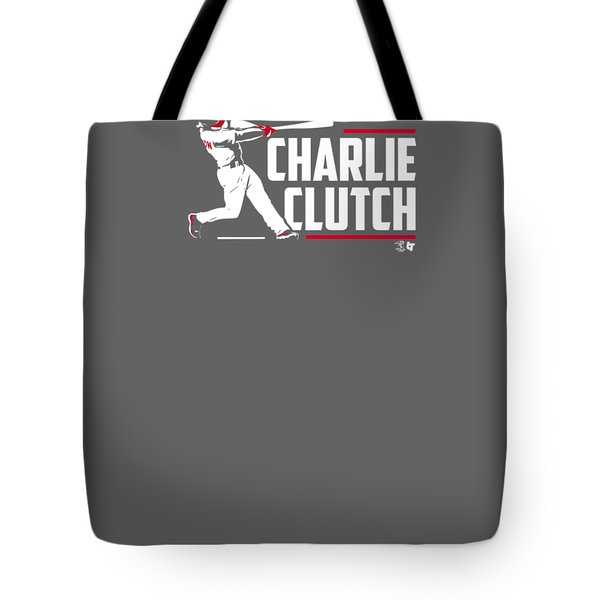 Officially Licensed Charlie Culberson Shirt - Charlie Clutch Tote Bag