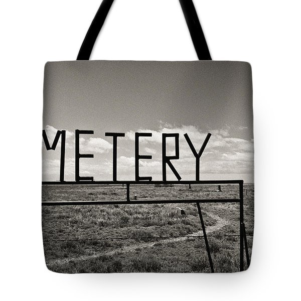 Oh, Bury Me Not Tote Bag