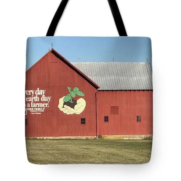 Ohio Barn  Tote Bag