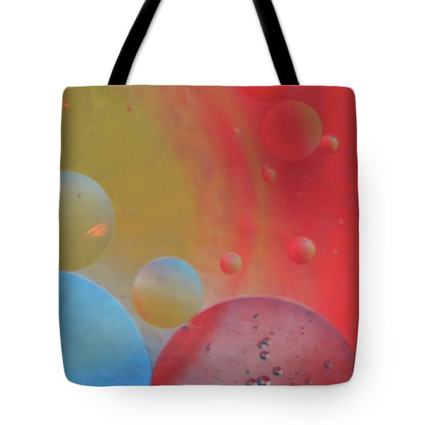 Oil And Color Tote Bag