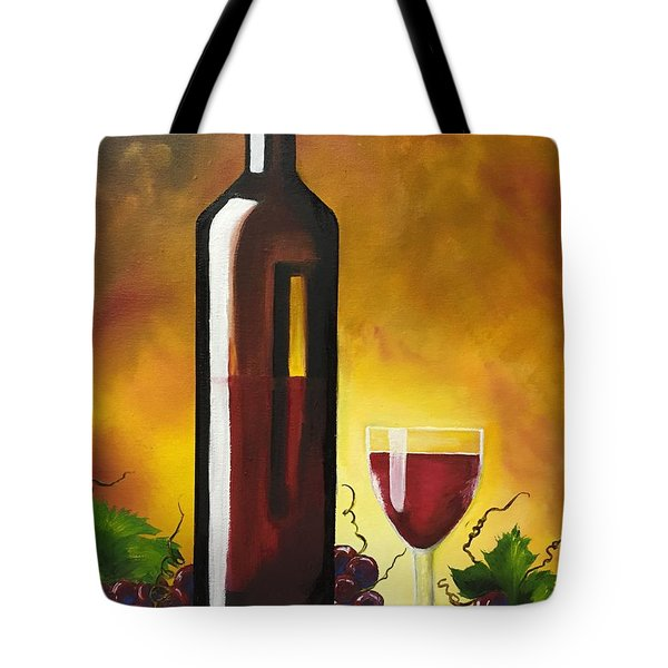 Okanagan Red  Tote Bag