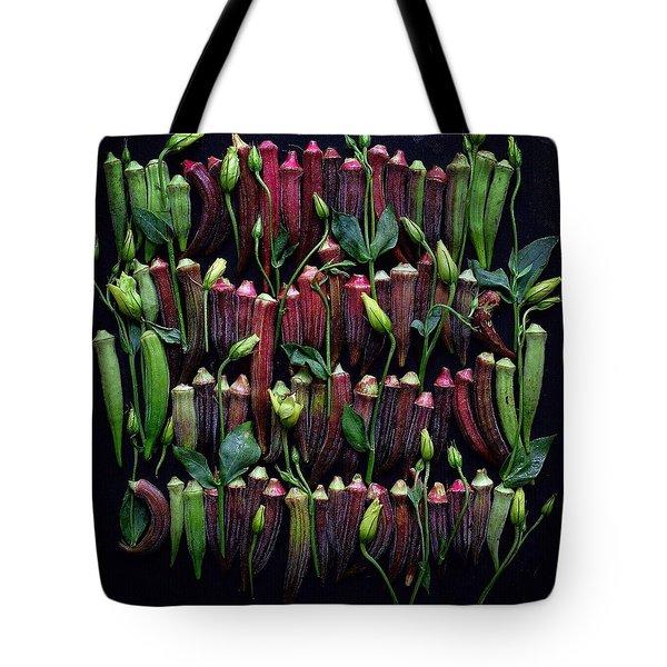 Okra Colors Tote Bag