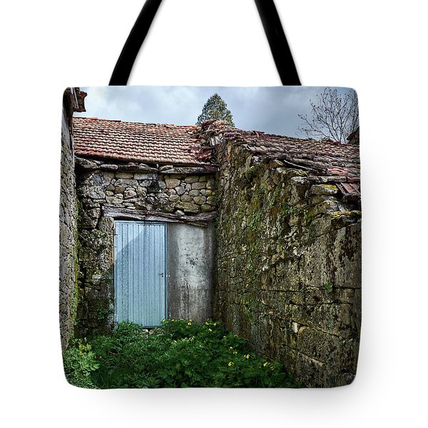 Old Abandoned House In Bainte Tote Bag