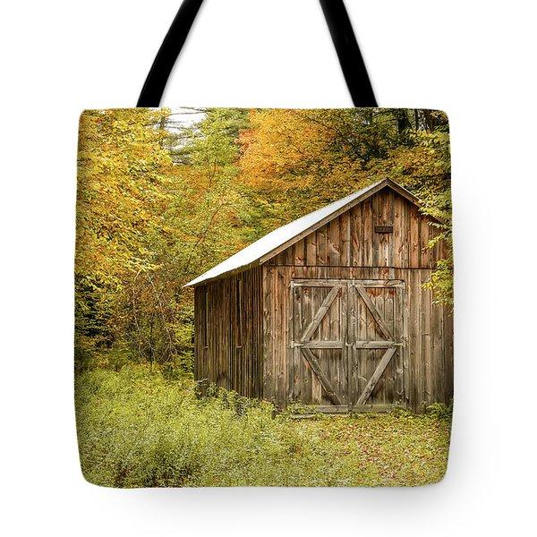 Old Barn New England Tote Bag