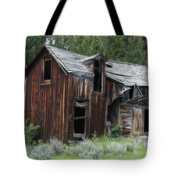 Old Cabin - Elkhorn, Mt Tote Bag