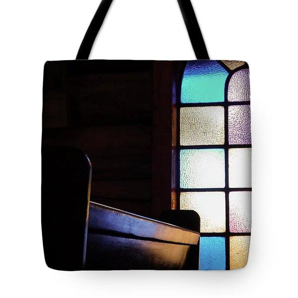 Old Church Tote Bag