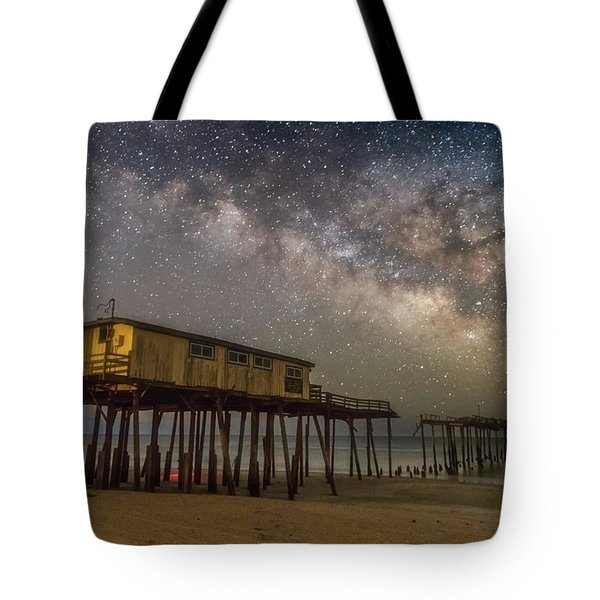 Old Frisco Pier Tote Bag