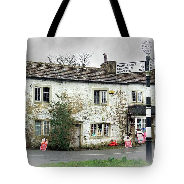 Tote Bag featuring the photograph Old Malham by David Birchall