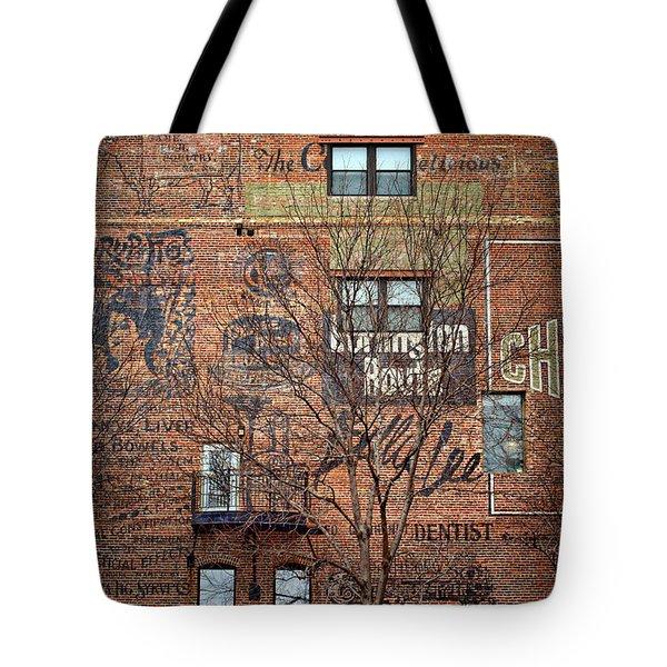 Old Market - Omaha - Metz Building - #1 Tote Bag