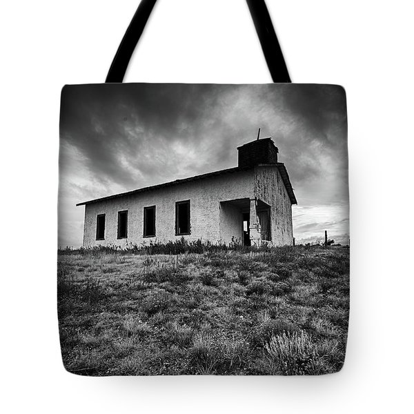 Tote Bag featuring the photograph Old Mission by Joe Sparks