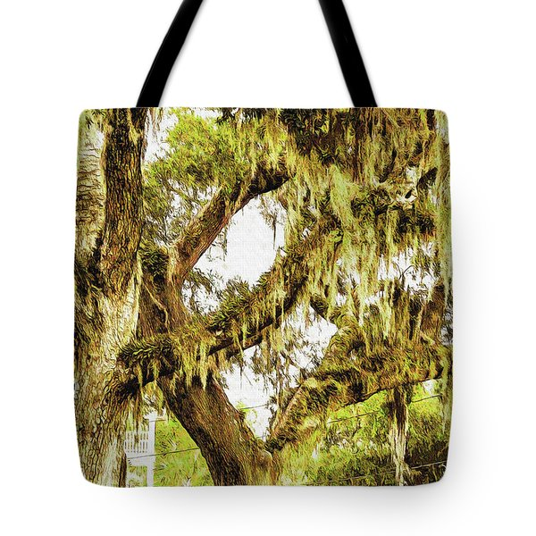 Old Mossy Oaks Tote Bag