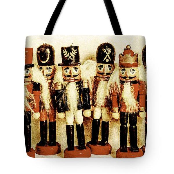Old Nutcracker Brigade Tote Bag