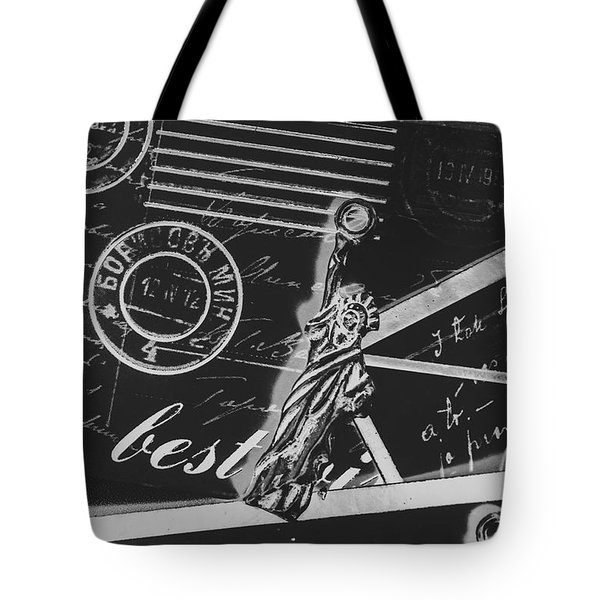 Old Postage Insignia Tote Bag