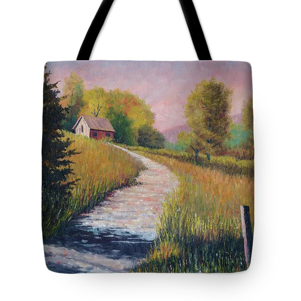 Old Road Tote Bag
