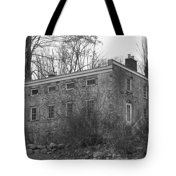 Old Stone House - Waterloo Village Tote Bag