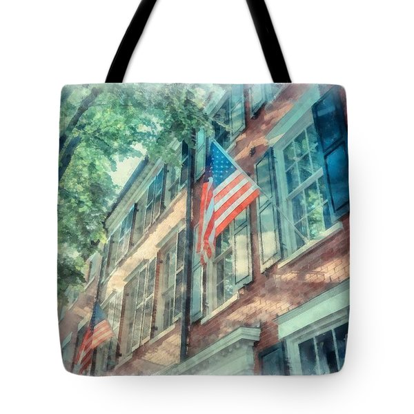 Old Town Alexandria Tote Bag